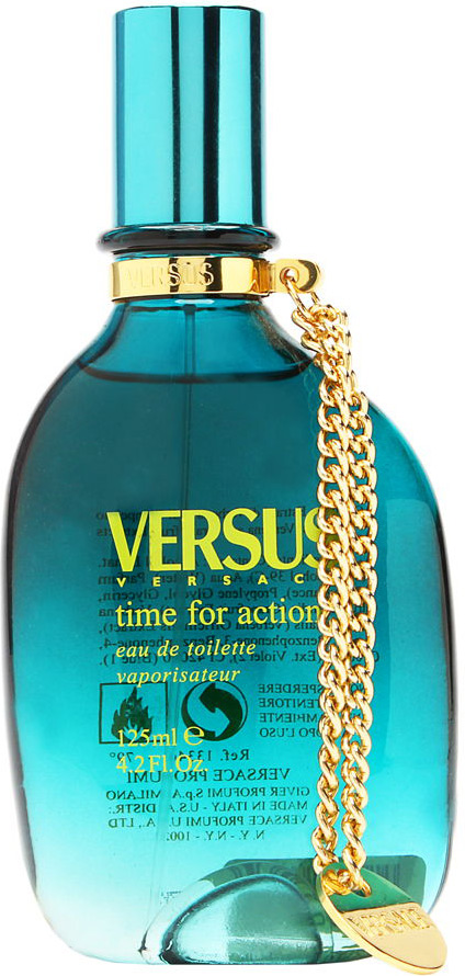 Versace Versus Time for Action